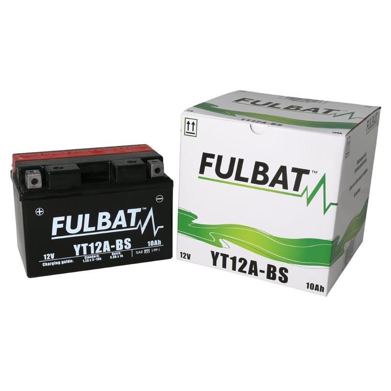 Batería Fulbat YT12A-BS (C/Acido)