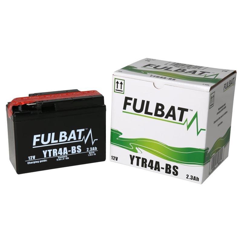 Batería Fulbat YTR4A-BS C/Acido