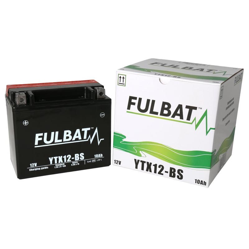 Batería Fulbat YTX12-BS C/Acido
