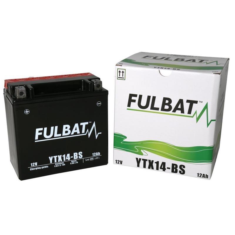 Batería Fulbat YTX14-BS C/Acido