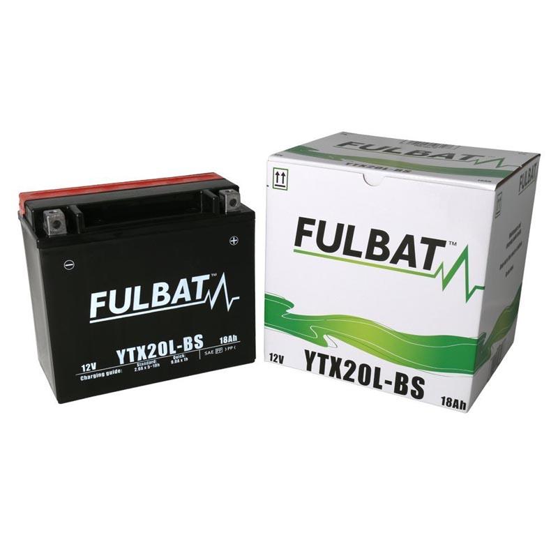 Batería Fulbat YTX20L-BS C/Acido
