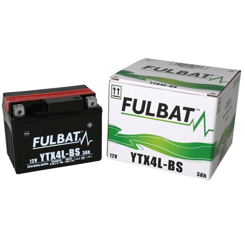 Batería Fulbat YTX4L-BS C/Acido