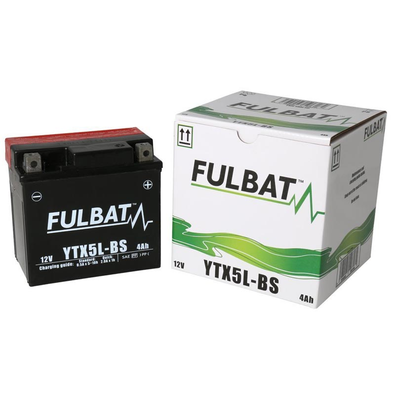 Batería Fulbat YTX5L-BS C/Acido