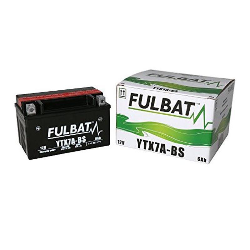 Batería Fulbat YTX7A-BS C/Acido
