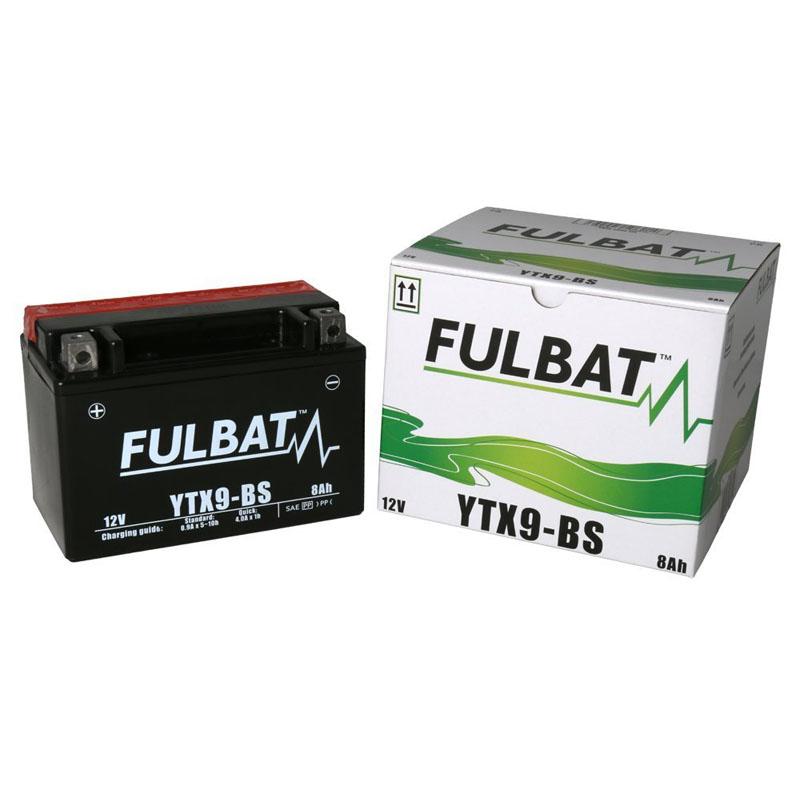 Batería Fulbat YTX9-BS C/Acido