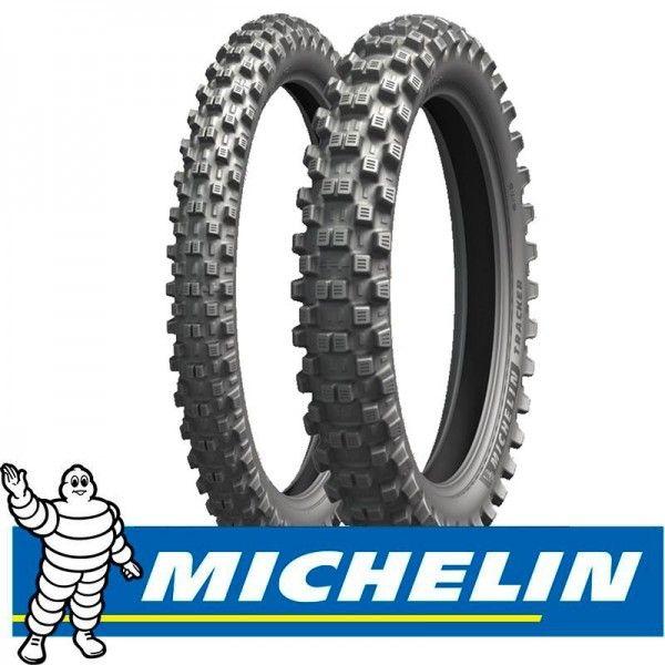 Cubierta 110-100-18 64R Michelin Tracker R TT