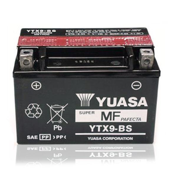 Batería Yuasa YTX9-BS C/Acido