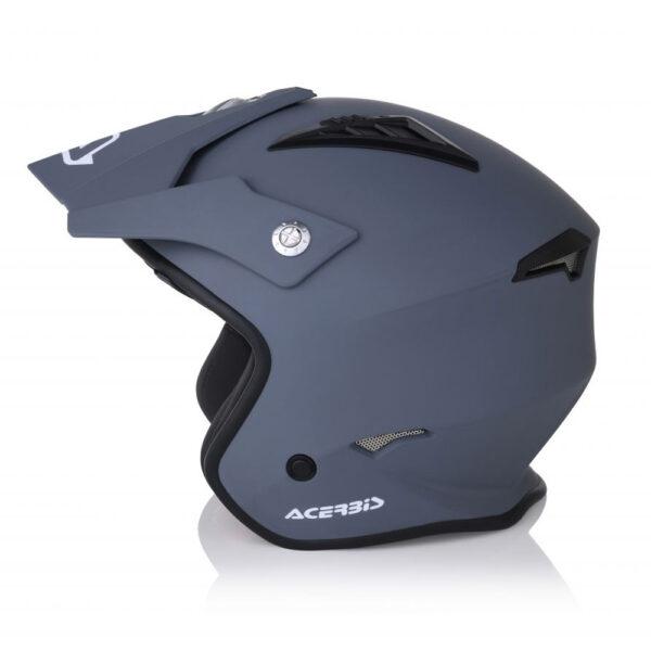 Casco Acerbis Jet Aria Gris