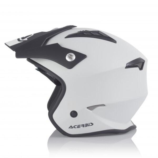 Casco Acerbis Jet Aria Negro Gris